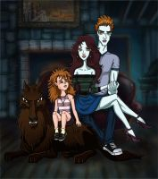 Bella Cullen family by Vikrapuff