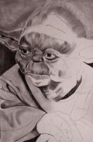 Yoda WIP1 by WitchiArt
