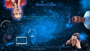 Sheldon Cooper - Background by Psycho4913