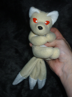 Kitsune: Contest prize plush by goiku