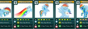 My Little Rivals: Urban is Magic. Rainbow Dash by LhasaApso