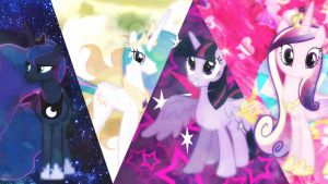 The Four Princesses Of Equestria! by xRandomGurl