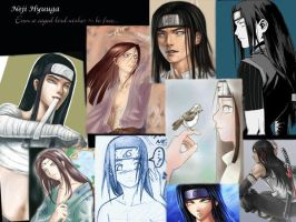 A Neji and his artists Tribute by elleblack