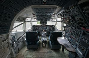 Lost boeing by CyrnicUrbex