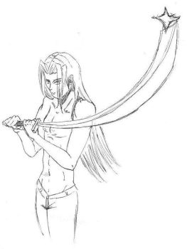 Sephiroth -staby time- by ChurchOneWingedAngel