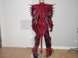 Dragon armor-Spine + Tail by Red-Dragon-Lord