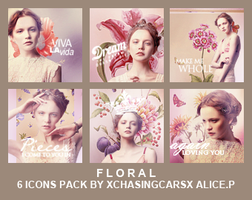 Icon Pack 6 - Floral by xChasingCarsx