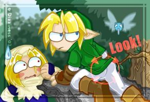 Zelda - Fairy WRONGNESS by dizziness