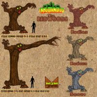 Inhumanoids - The Redwoods by wondermanrules