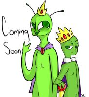 My New Webcomic! Coming Soon! Rule the Worlds by DrelykS