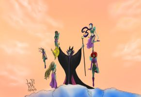 W.I.T.C.H. Maleficent's Evil Plan (Contest Entry) by LupiViri