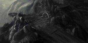 cliff base by trainfender