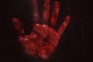 Bloody Hand by thomassilvent