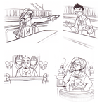 BrainScratchComms: Ace Attorney doodles by SmashToons