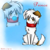 My dog Prince by tioma-the-eevee-girl