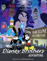 Disney Brothers Adventure Poster by DelDiz