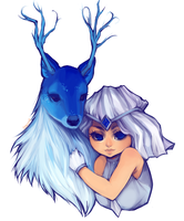 snow deer companion by pharmacon