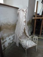 old baby bed by mimose-stock