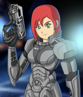 Femshep! by slash000