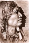Apache Warrior by ArtsandDogs