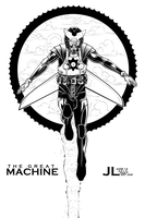 The Great Machine -June '12 Daily Art Jam- Day 14 by JeremiahLambertArt