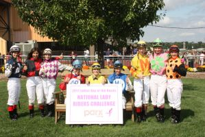 Female Jockey Challenge by JockeyMariaRemedio