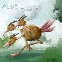 085 - Dodrio by Electrical-Socket