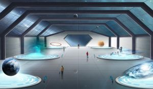 The space museum by Fug4s