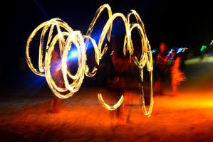 Fire Dancers [FOR SALE] by VitaminCakes