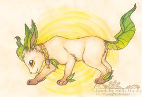 Leafeon by CunningFox