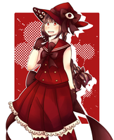 Red Sea Witch by inahorange