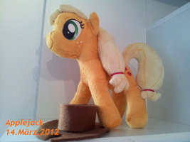 My little Pony FiM - Applejack plushie by SakuSay