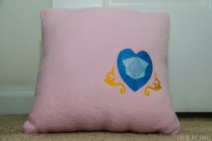 Princess Cadance Pillow by poniesNpillows