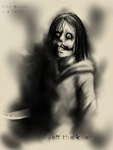Smile and knife 2013 by Pozem