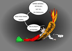 Save The Flaming Carrot by carriehowarth