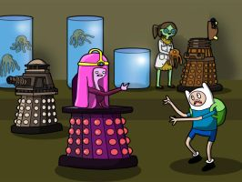 Daleks in Ooo part three by richardnixon1968