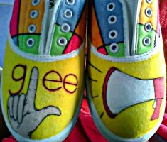 Glee Shoes by Gratian-Grime