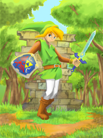 A Link Between Worlds (version a color) by Ensaru64