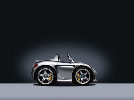Mini Porsche Carrera GT by hamsher
