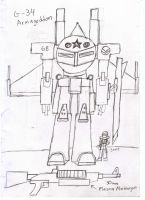 IRS G-34 Armageddon Heavy Mech by Target21