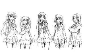 K-ON by Agacross