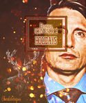 Happy Hannibal Holidays(icon pack) by 3libraschild