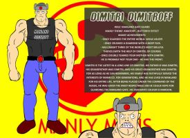 Gate Guard Two: Dimitri by ManlyMens