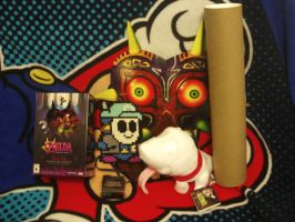 Stuff from Majora's Mask 3D Event by MarioSimpson1