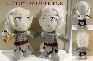 Mirthys and Gelebor by LMColver
