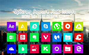 Flat Icon Pack (+50 Design Icons!) ICO+PNG by AyoKazuya