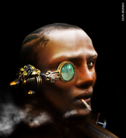 Don Hosho-Nubian Steampunk by donhosho
