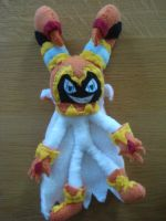 Jackle plushie by NIGHTSandTAILSFAN