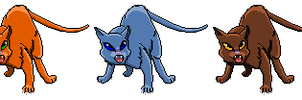 Cat Sprites (OLD) by Brookreed