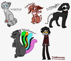dem free sketches... i guess X'D by inkquts